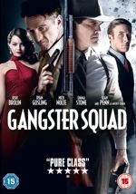 Gangster Squad Region 2 DVD