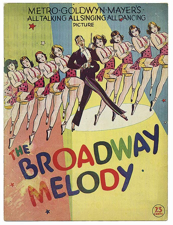 The Broadway Melody movie poster