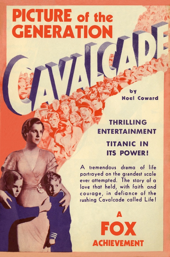 Cavalcade movie poster