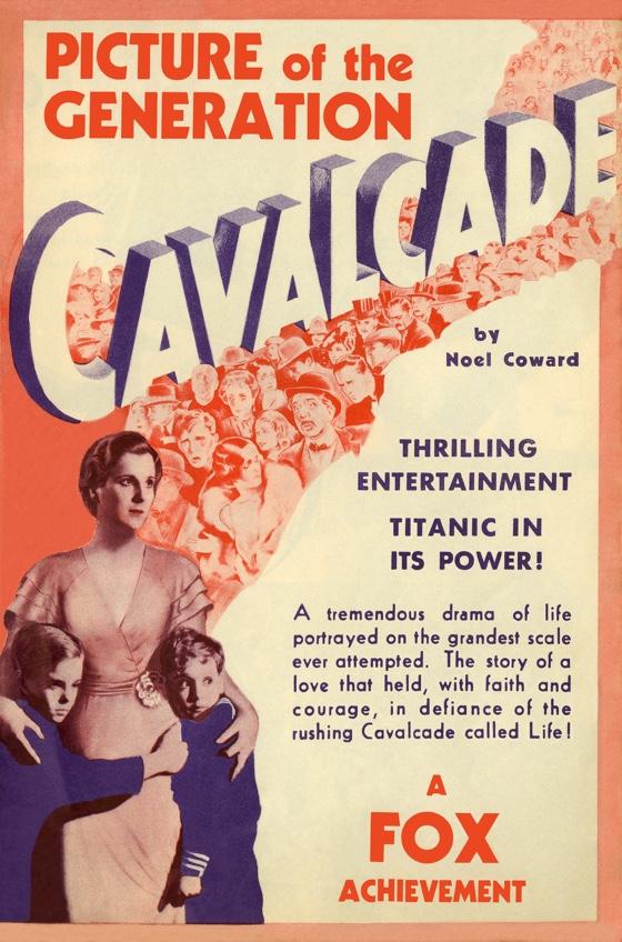 Cavalcade movie poster