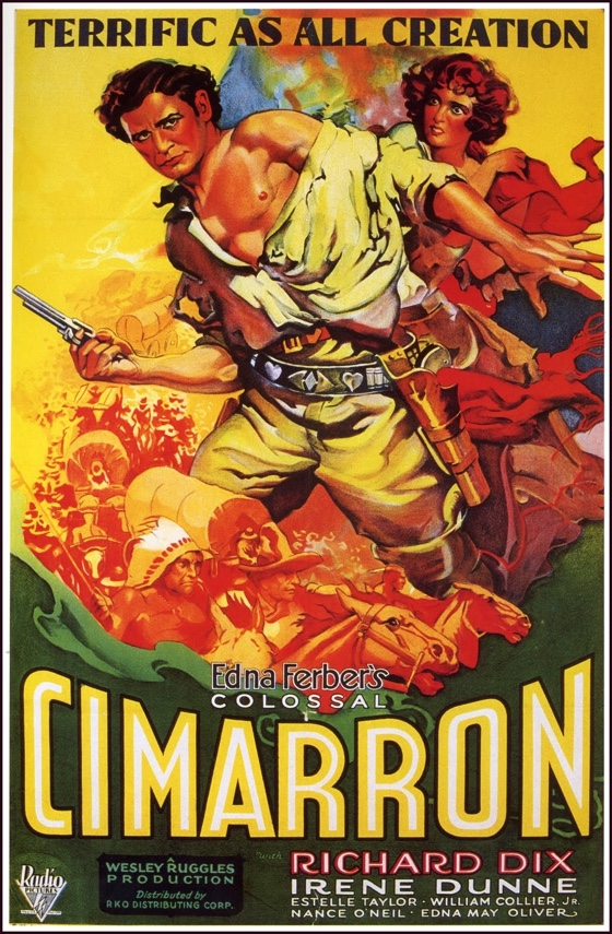Cimarron movie poster