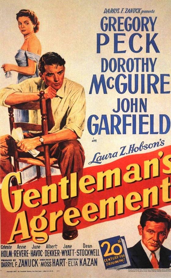 Gentleman's Agreement movie poster