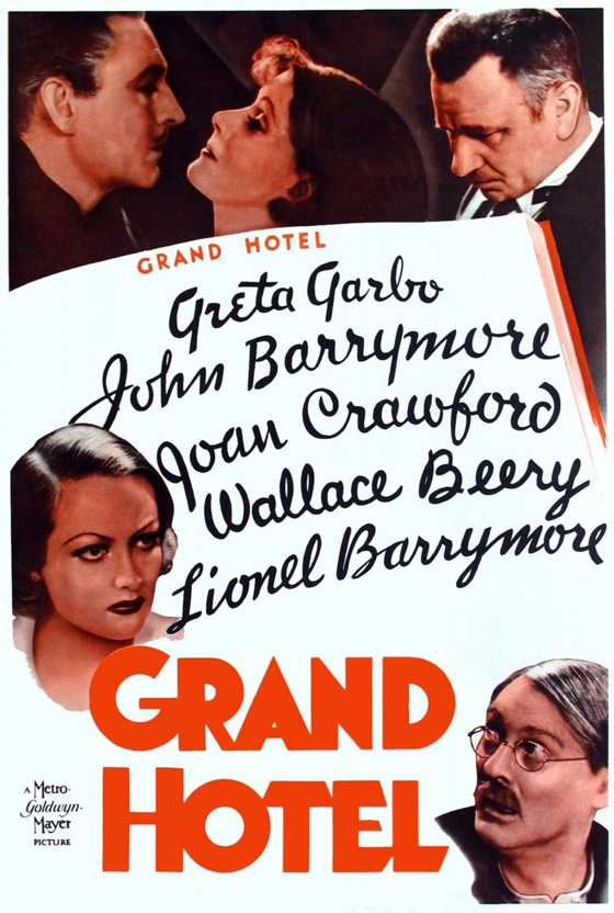 Grand Hotel movie poster