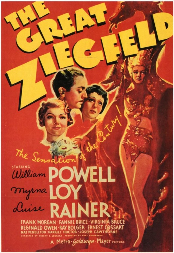 The Great Ziegfeld movie poster