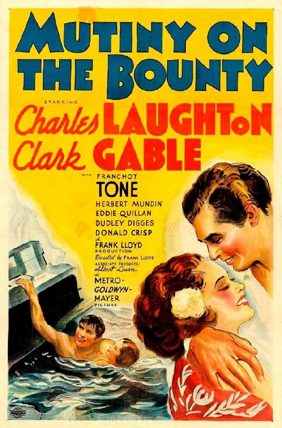Mutiny on the Bounty movie poster