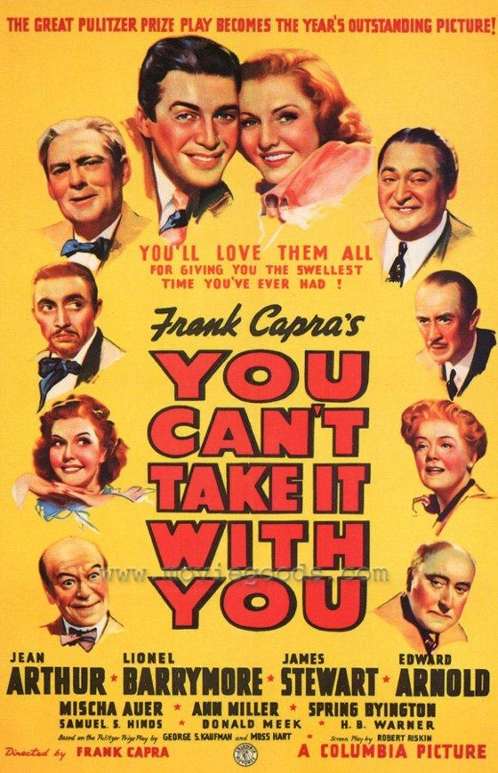 You Can't Take It with You movie poster