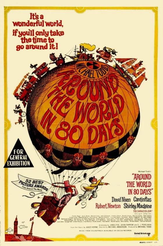 Around the World in 80 Days movie poster