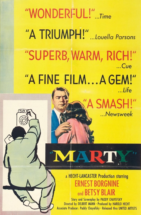 Marty movie poster