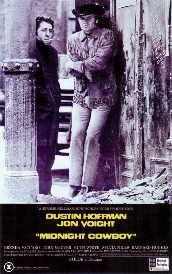 Midnight Cowboy movie poster