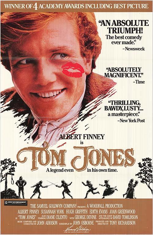 Tom Jones movie poster