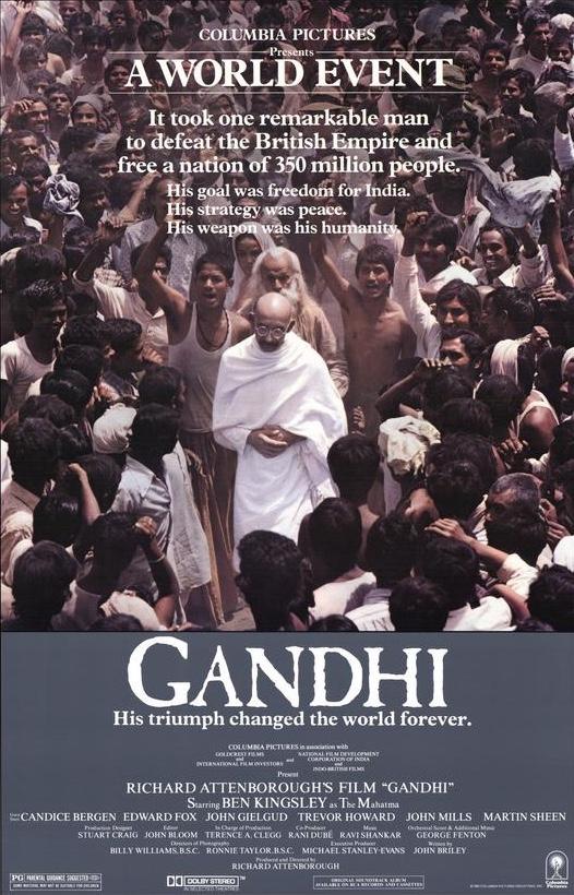 Gandhi movie poster