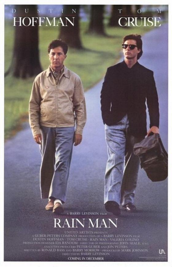 Rain Man movie poster
