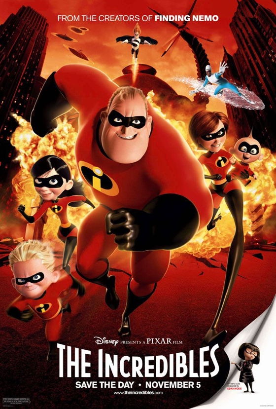 The Incredibles movie poster