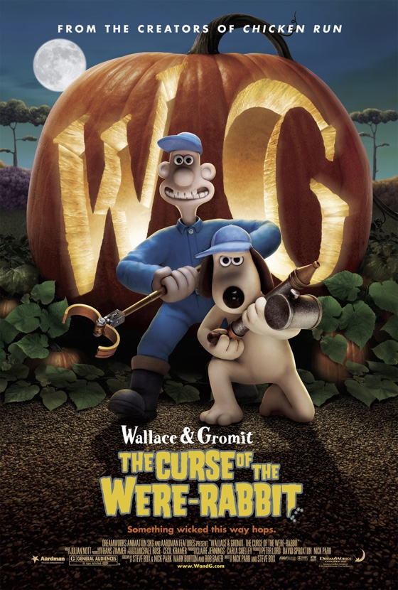 Wallace & Gromit The Curse of the Were-Rabbit movie poster