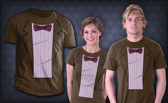 bowtie tee Matt Smith Eleventh Doctor