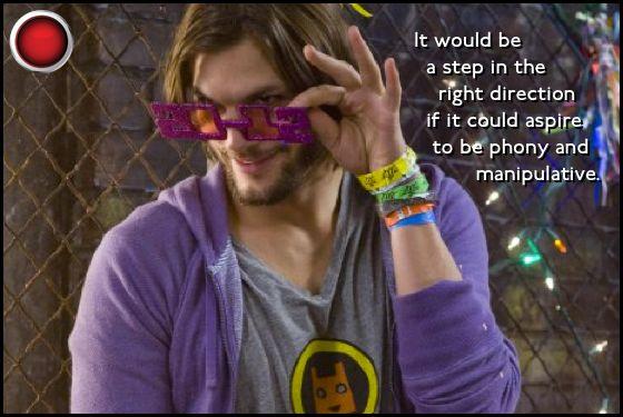 Ashton Kutcher New Year's Eve red light