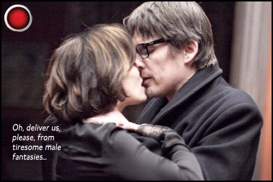 The Woman in the Fifth Kristin Scott Thomas Ethan Hawke red light