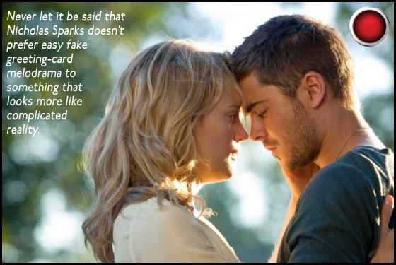 The Lucky One Taylor Schilling Zac Efron