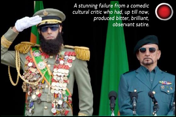 The Dictator Sacha Baron Cohen Ben Kingsley red light
