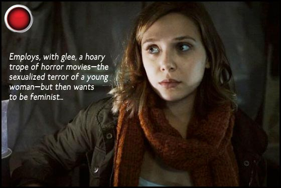 Silent House red light Elizabeth Olsen