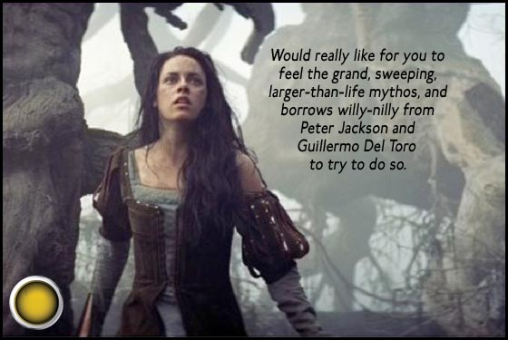 Snow White and the Huntsman Kristen Stewart yellow light