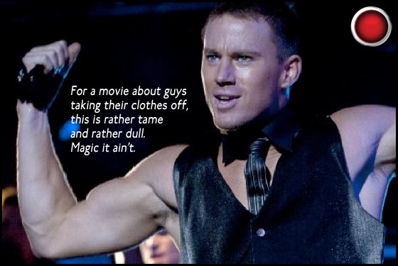 Magic Mike red light Channing Tatum