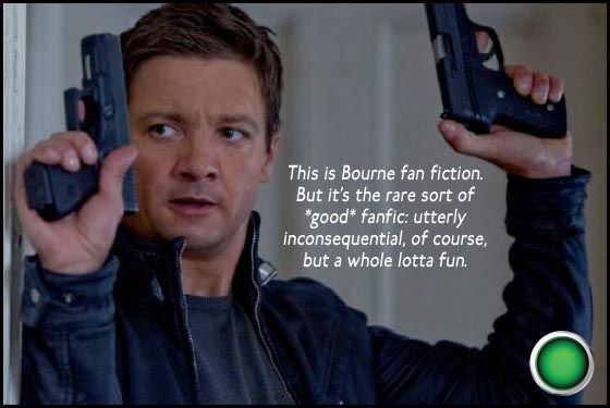 The Bourne Legacy Jeremy Renner green light