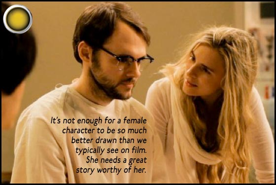 Sound of My Voice yellow light Christopher Denham Brit Marling