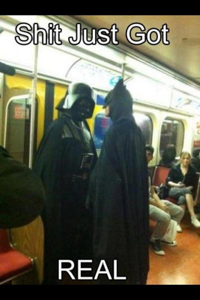 Darth Vader Batman
