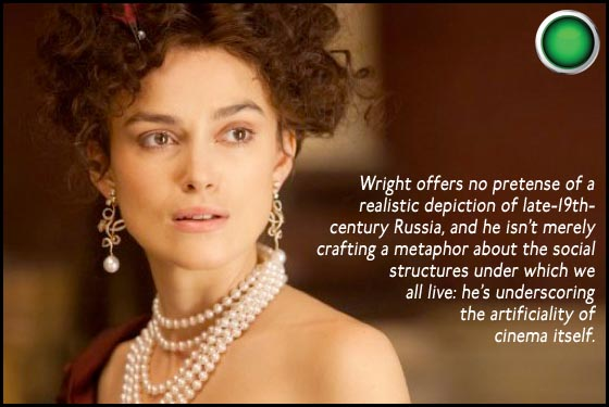 Anna Karenina green light Keira Knightley