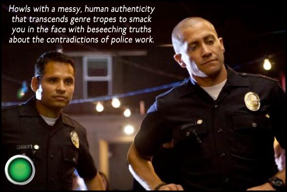 End of Watch green light Michael Pena Jake Gyllenhaal