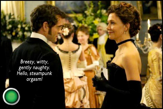 Hysteria green light Hugh Dancy Maggie Gyllenhaal