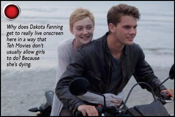 Now Is Good red light Dakota Fanning Jeremy Irvine