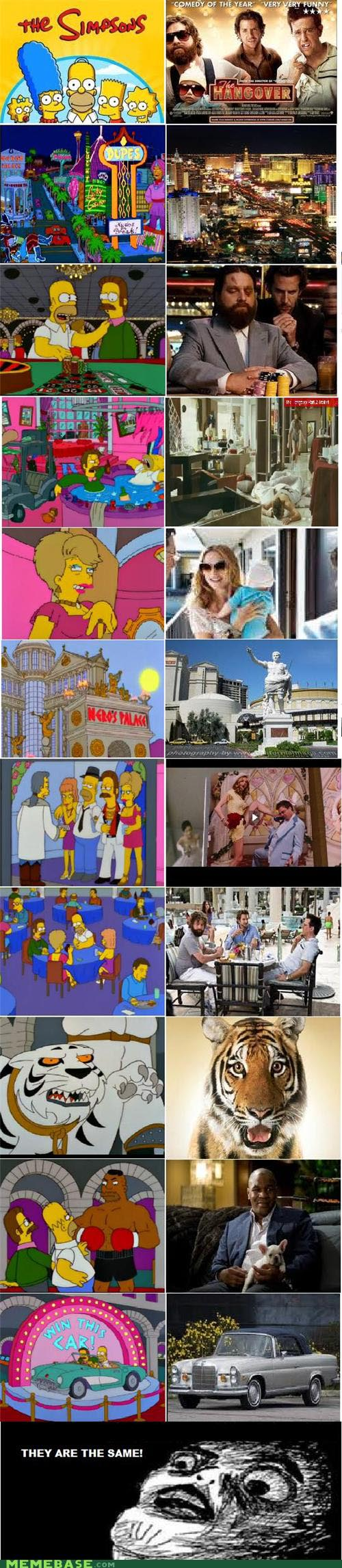 The Simpsons vs The Hangover