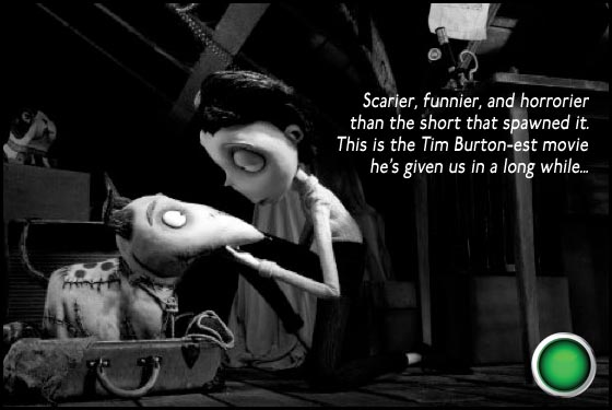 Frankenweenie green light