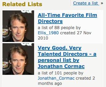 people on IMDB love Michael Bay