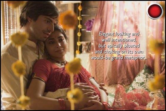 Midnight's Children Shriya Saran Satya Bhabha red light