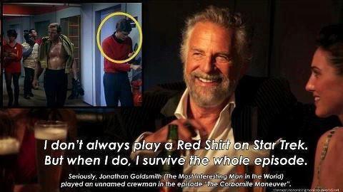 Most Interesting Man in the World on Star Trek