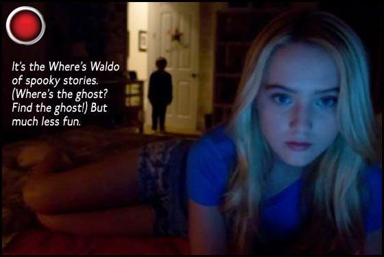 Paranormal Activity 4 red light Kathryn Newton