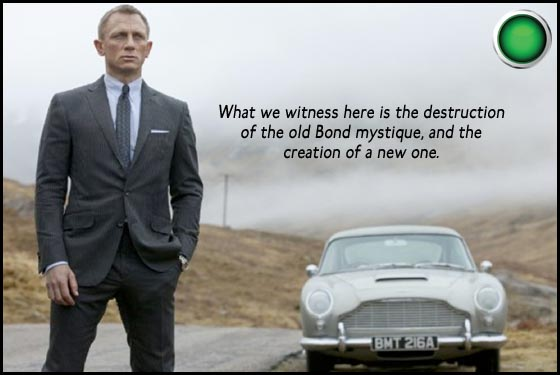 Skyfall Daniel Craig green light