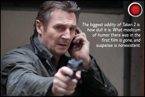 Takes 2 red light Liam Neeson