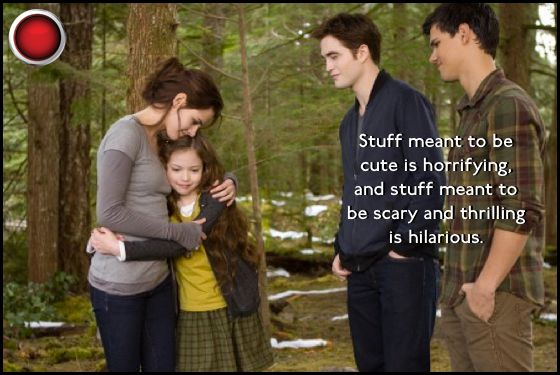 Twilight Breaking Dawn 2 red light Kristen Stewart Mackenzie Foy Robert Pattinson Taylor Lautner