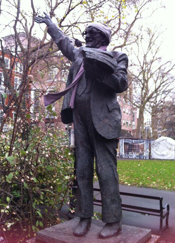 Fenner Brockway statue