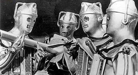 classic Cybermen Doctor Who