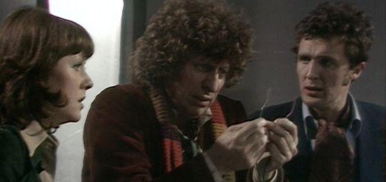 Doctor Who Elisabeth Sladen Tom Baker Ian Marter