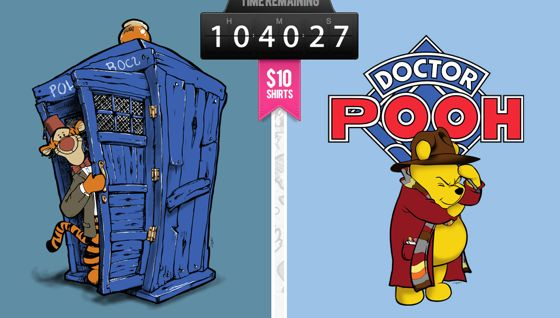 Doctor Who Winnie the Pooh