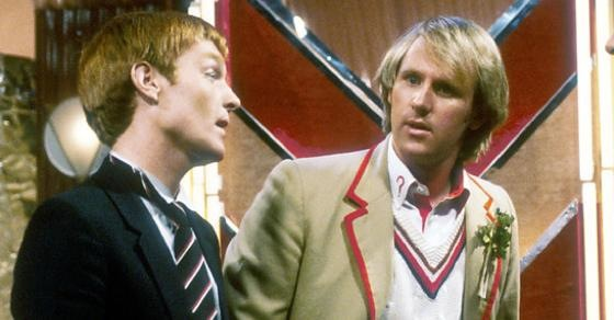 Doctor Who Mark Strickson Peter Davison