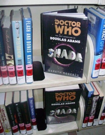 Doctor Who books New York Public Library