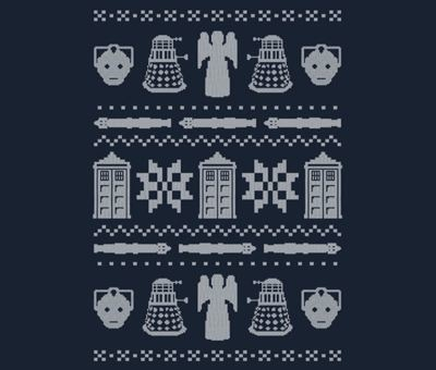 Doctor Who sweater tee