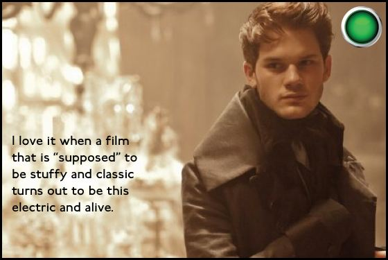 Great Expectations green light Jeremy Irvine